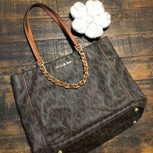 Michael Kors Lg brown tote